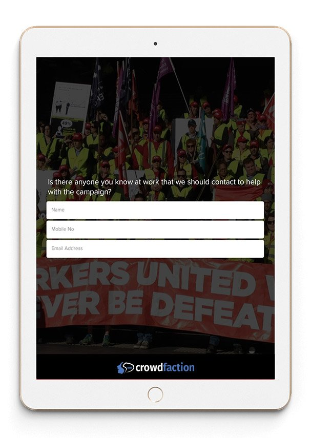 union-campaign-surveys
